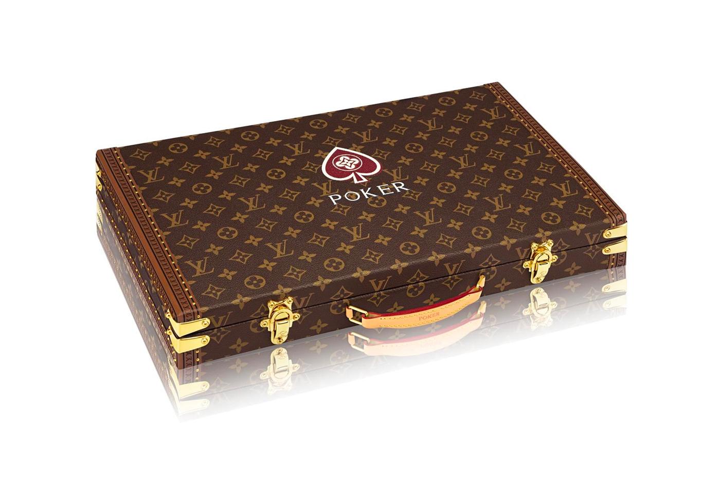 Louis Vuitton pókerszett